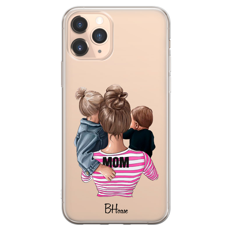 Mom Of Boy And Girl Case iPhone 11 Pro Max