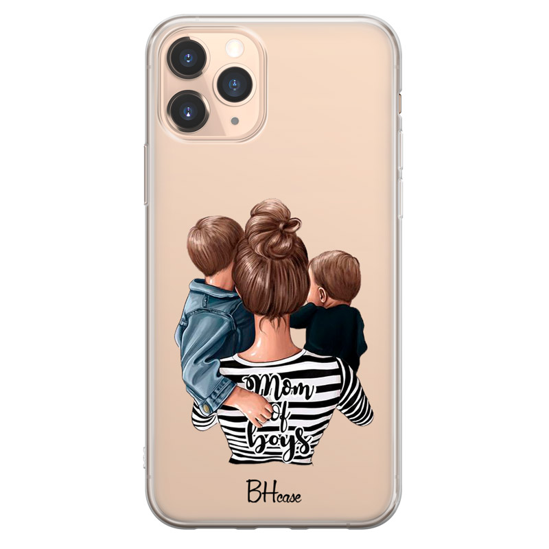 Mom of Boys Case iPhone 11 Pro Max