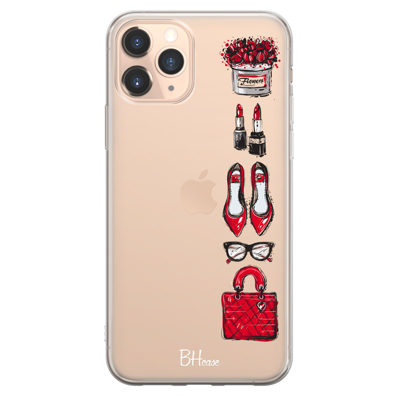 Red Fashion Case iPhone 11 Pro Max