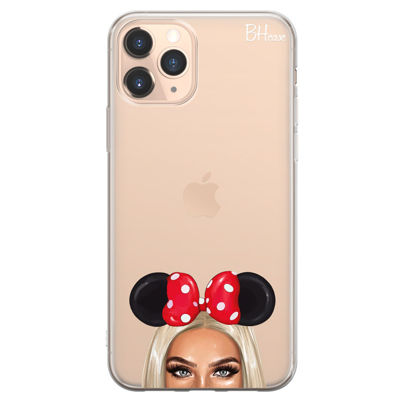 Blonde Girl With Ribbon Case iPhone 11 Pro Max