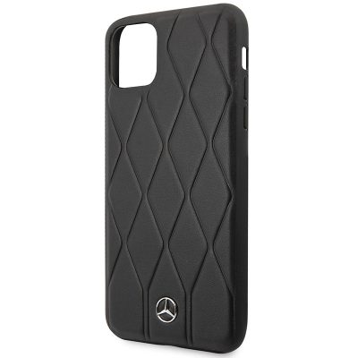 Mercedes HC Quilted Leather Black Case iPhone 11 Pro