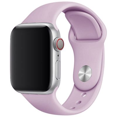 Silicone Band Apple Watch 42/44mm Lavender Large