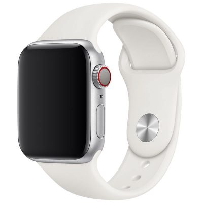 Silicone Band Apple Watch 42/44mm Light White Large
