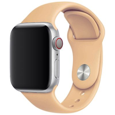 Silicone Band Apple Watch 42/44mm Apricot Large