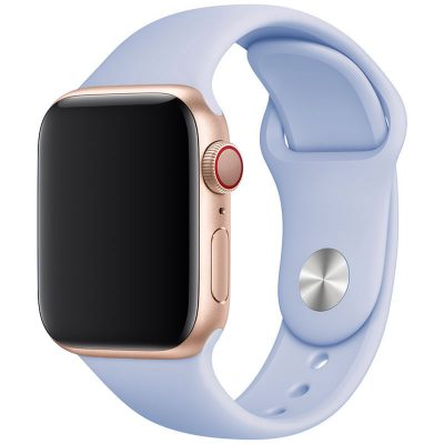 Silicone Band Apple Watch 42/44mm Baby Blue Eyes Large