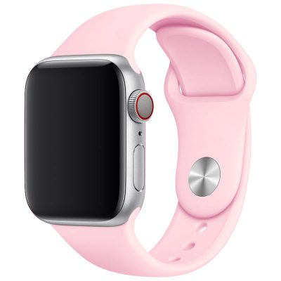 Silicone Band Apple Watch 42/44mm Spanish Pink Sand Large