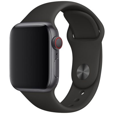 Silicone Band Apple Watch 42/44mm Black Large