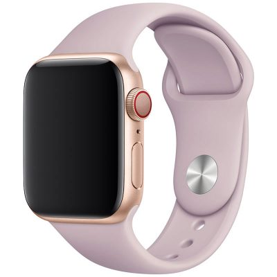 Silicone Band Apple Watch 42/44mm Pink Bell Large