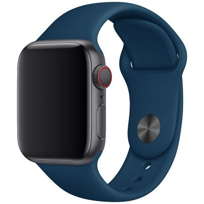 Silicone Band Apple Watch 42/44mm Blue Opal Large