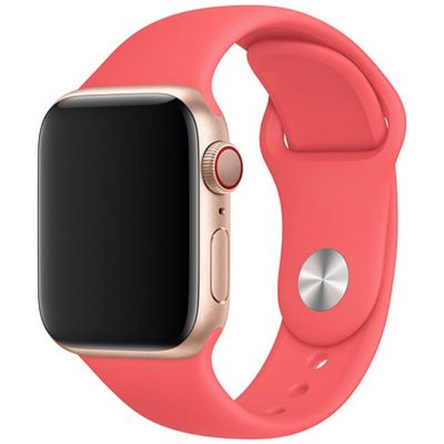 Silicone Band Apple Watch 42/44mm Pink Large
