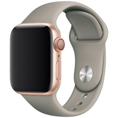 Silicone Band Apple Watch 42/44mm Cadet Grey Large