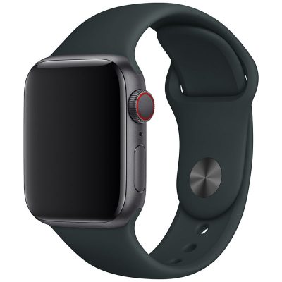 Silicone Band Apple Watch 42/44mm Dark Gray Large