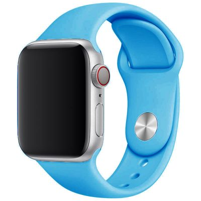 Silicone Band Apple Watch 42/44mm Blue Large