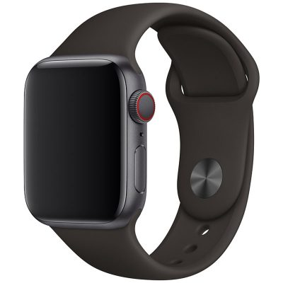 Silicone Band Apple Watch 42/44mm Iron Large