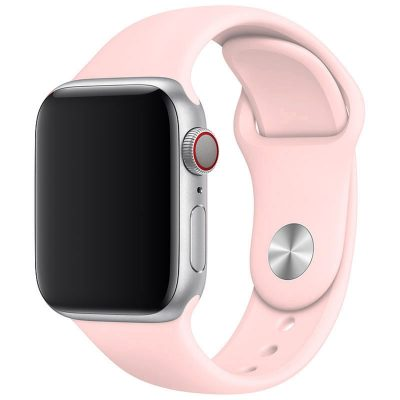 Silicone Band Apple Watch 42/44mm Pink Sand Large