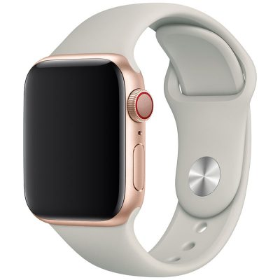 Silicone Band Apple Watch 42/44mm Stone Large