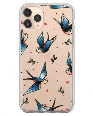 Birds Tattoo Case iPhone 11 Pro Max