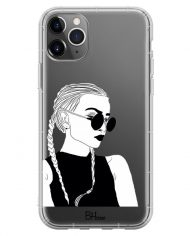 Black And White Girl Case iPhone 11 Pro Max