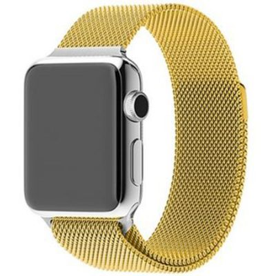 Milanese Loop Band Apple Watch 38/40mm Gold