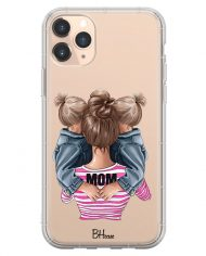 Mom Of Girl Twins Case iPhone 11 Pro Max