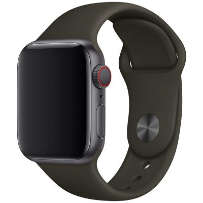 Silicone Band Apple Watch 42/44mm Army Green Small