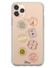 Travel Stamps Case iPhone 11 Pro Max