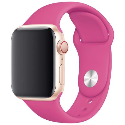 Silicone Band Apple Watch 42/44mm Dragon Fruit Large