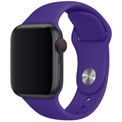 Silicone Band Apple Watch 42/44mm Purple Large